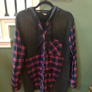 BDG for Urban Outfitters Hooded Flannel